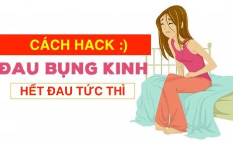 Cách Hack Đau Bụng Kinh