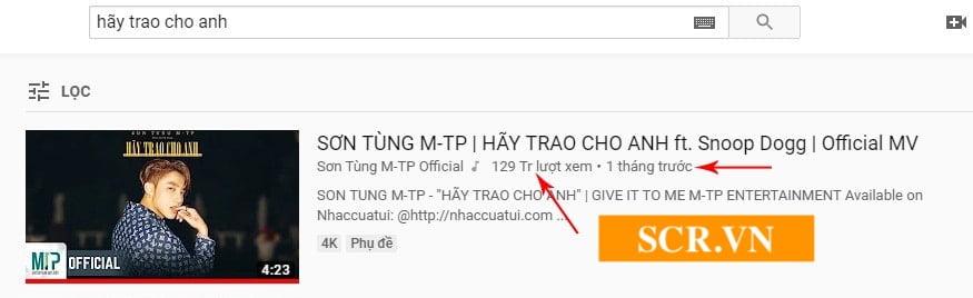Cày View Youtube Sơn Tùng MTP