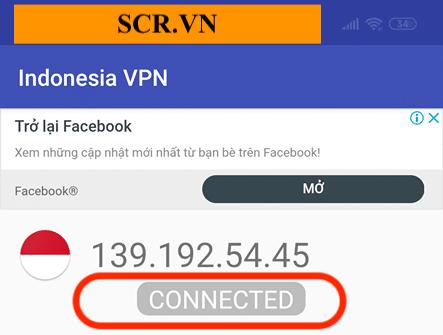 Chuyển thành công IP Indonesia
