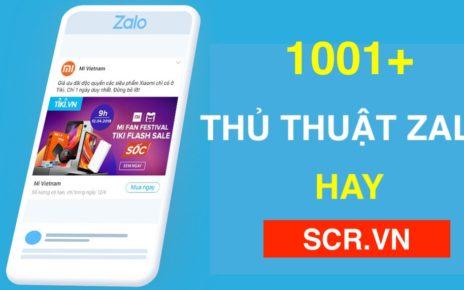 THỦ THUẬT ZALO HAY