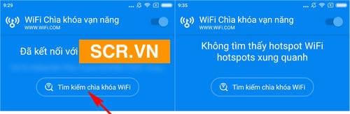 Tìm wifi