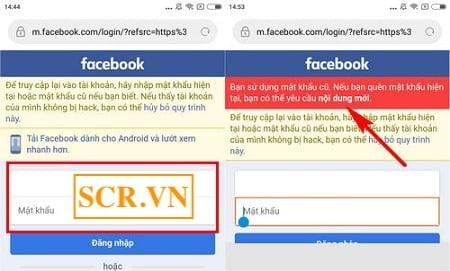 Link báo cáo Facebook bị hack