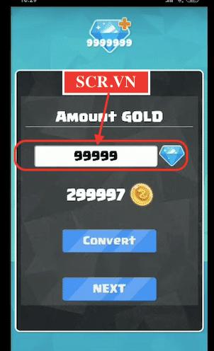 Nhập số Vàng