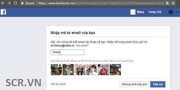 đăng ký fb trên máy tính