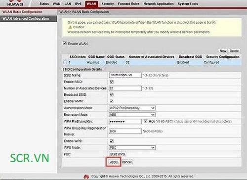 Đổi Tên Modem Huawei VNPT