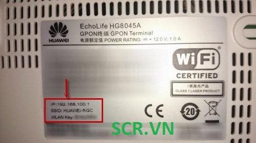Wifi Huawei VNPT