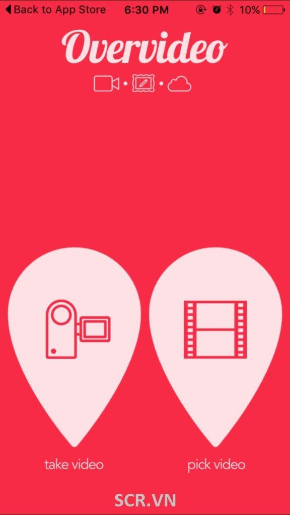 Overvideo - App ghép Video Trên IPhone