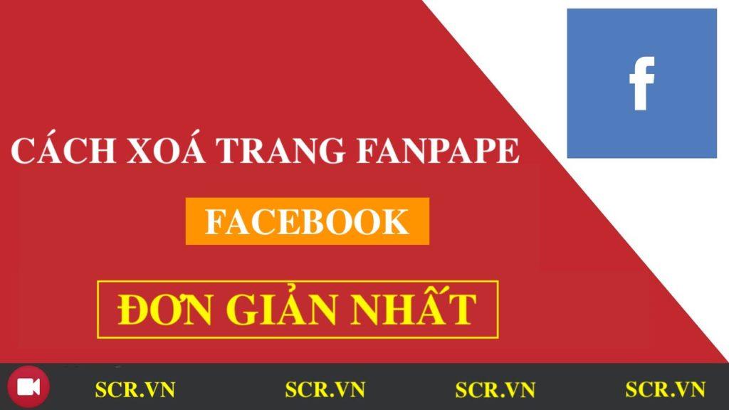 Cách Xoá Trang Trên Facebook