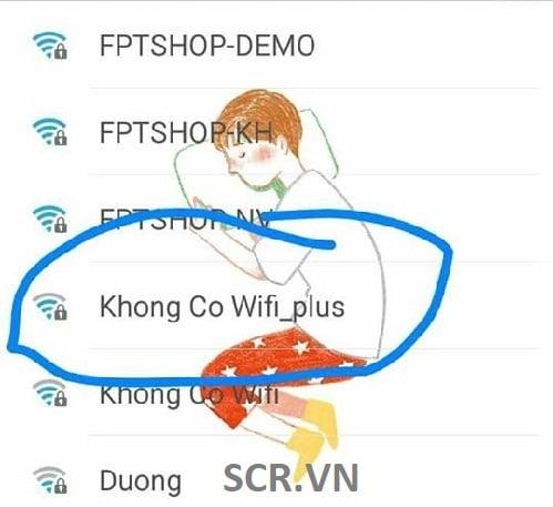 Tên Wifi Sang Chảnh