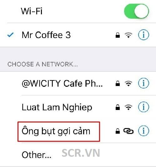 Tên Wifi Hài Hước