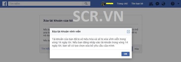 Xóa Facebook Vĩnh Viễn Trên Máy Tính
