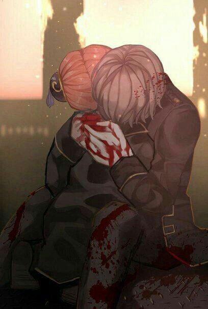 Ảnh Anime buồn về tình yêu