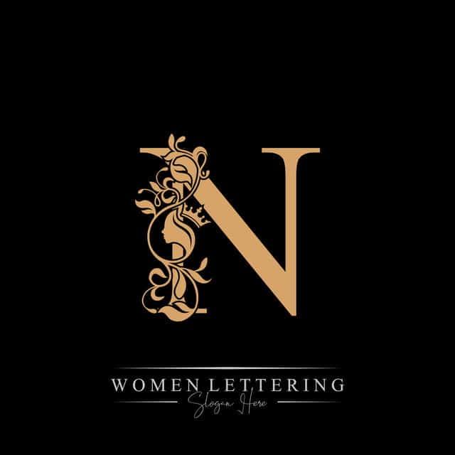 Nền chữ N