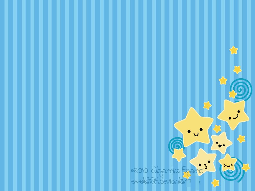 Ảnh nền màu xanh da trời cute