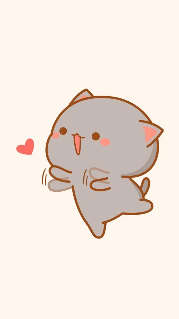Ảnh nền mèo cute đáng yêu đôi