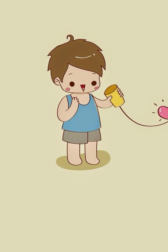 ảnh nền điện thoại cậu bé