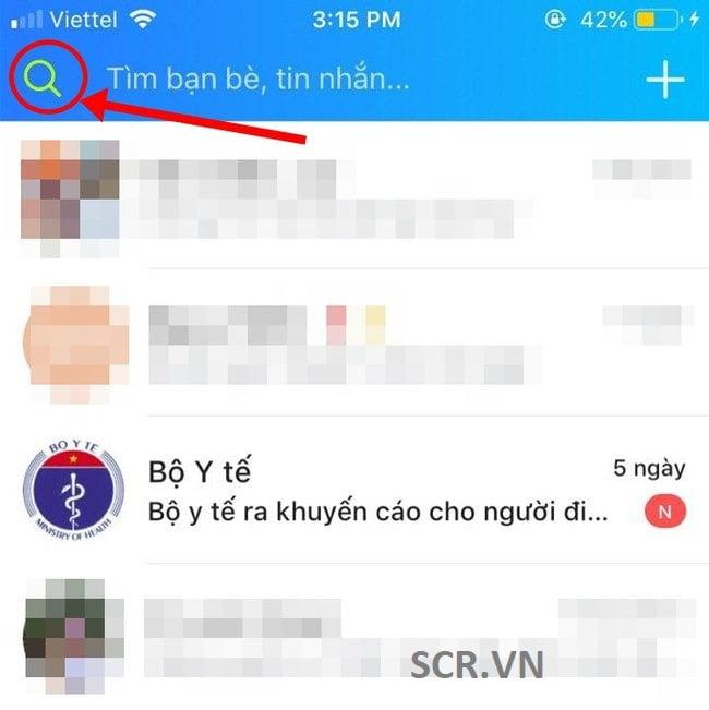 Tìm Tin Nhắn Ẩn Zalo Trên Android