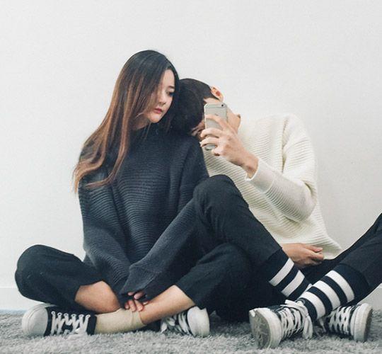 Avt người thật couple cute đáng yêu