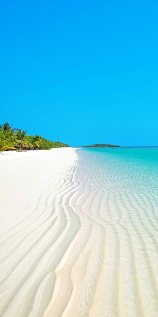 Cảnh biển thật đẹp làm nền điện thoại