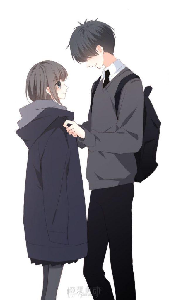 Couple Anime học sinh