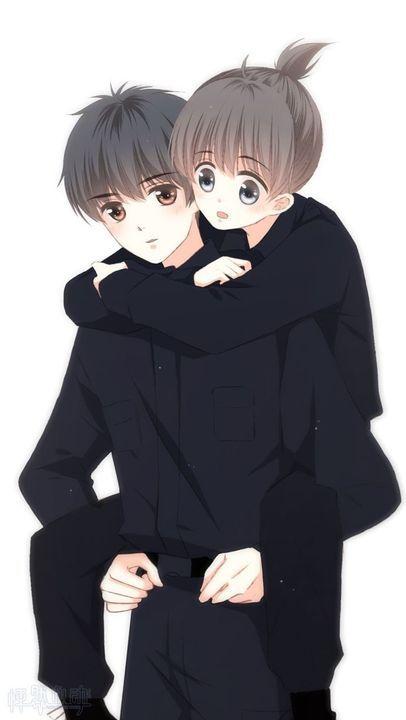 Hình đôi Anime dễ thương cute