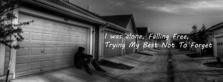 Hình bìa Fb cực buồn