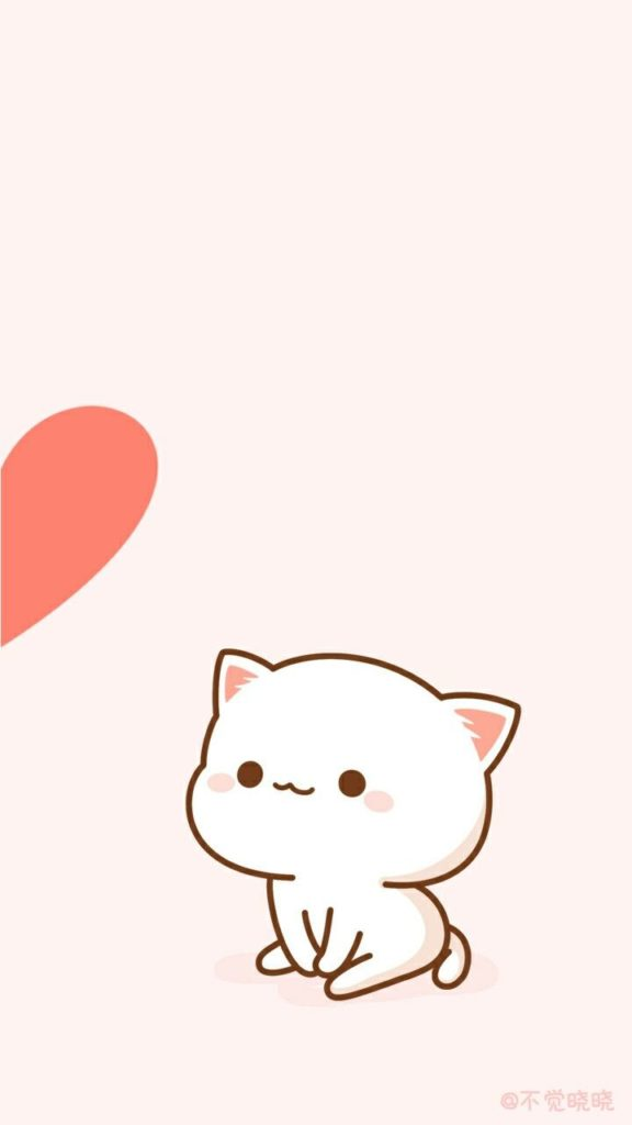 Hình nền đôi mèo cute