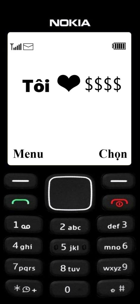 Hình nền Tôi yêu Tiền