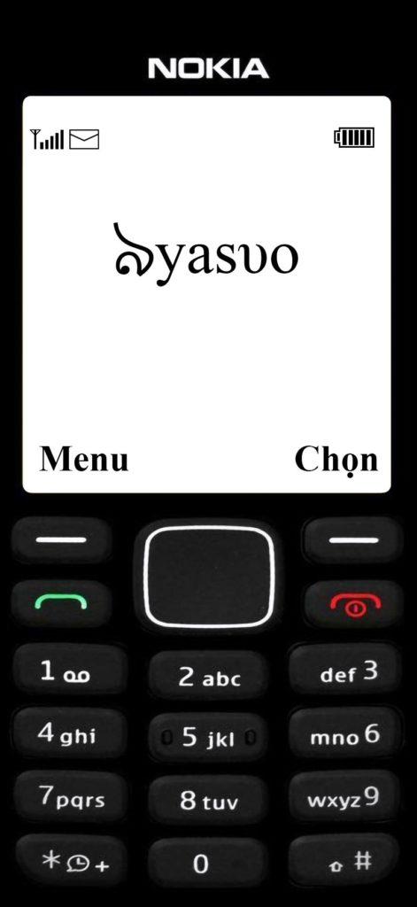 Hình nền Yasuo