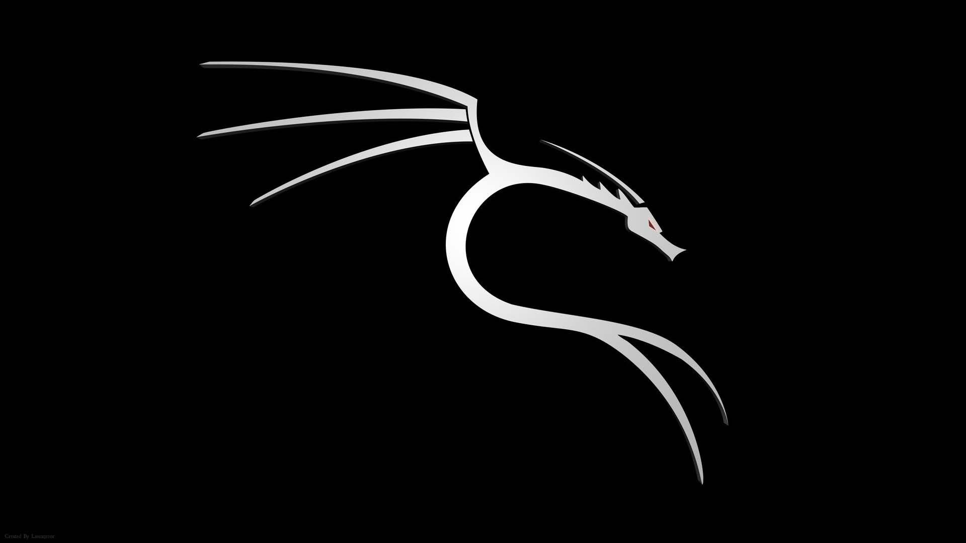 Hình nền rồng đen