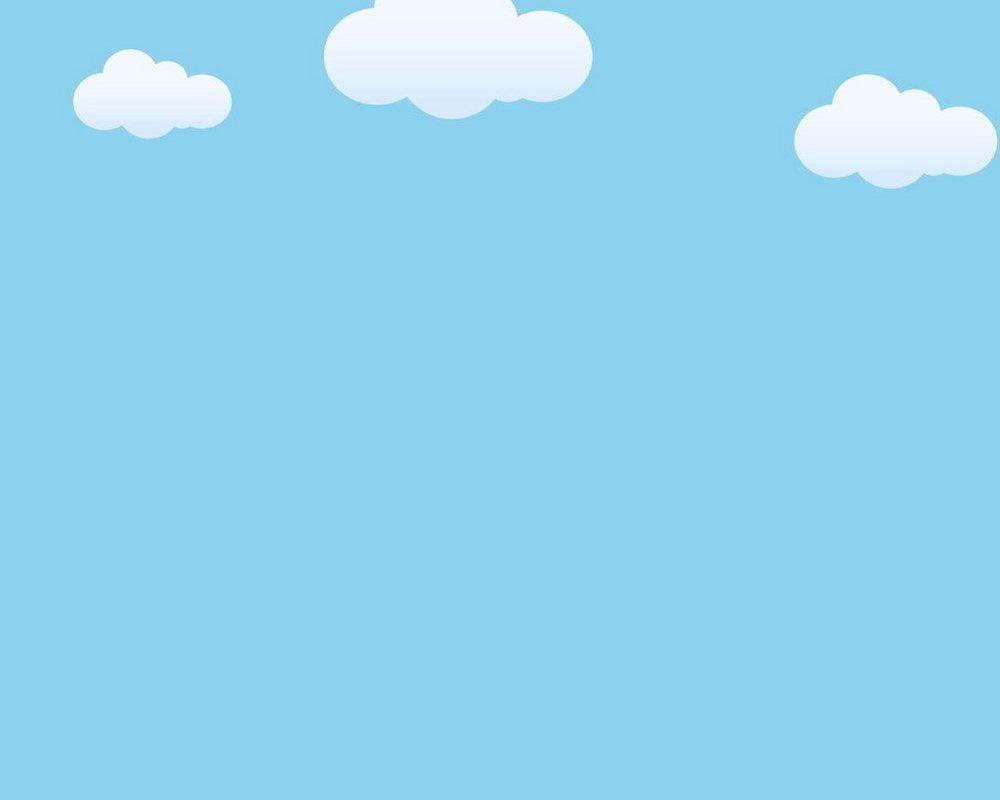 Nền màu xanh dương dễ thương