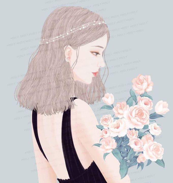 avatar cô gái dịu dàng