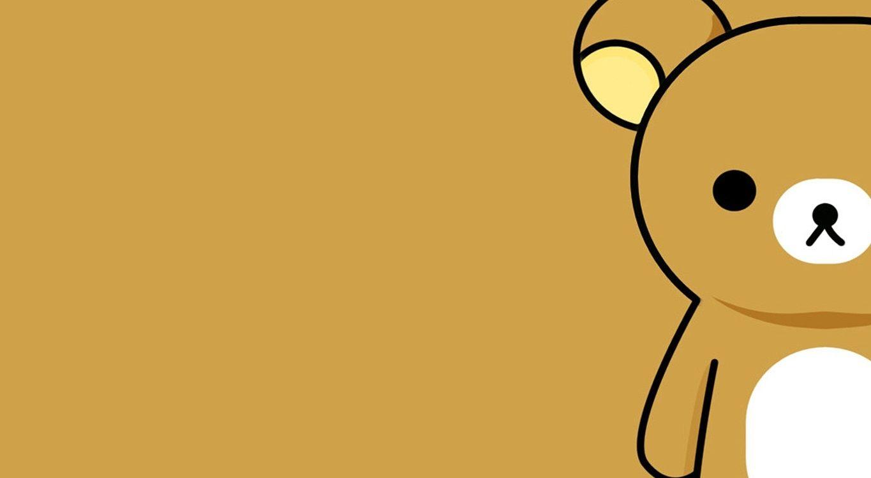hình nền chú gấu nâu