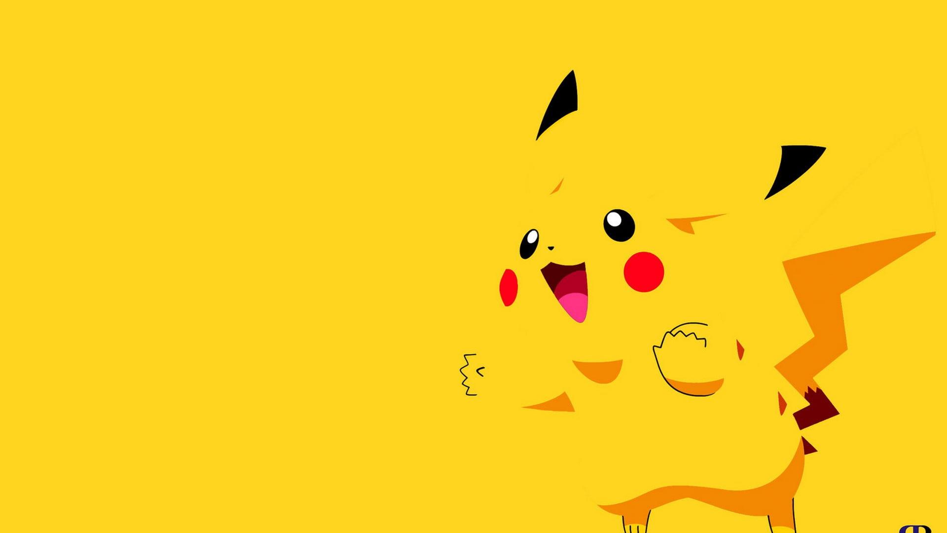 hình nền máy tính Pokemon vàng