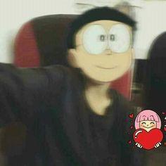 Ảnh trai cute chế mặt Nobita