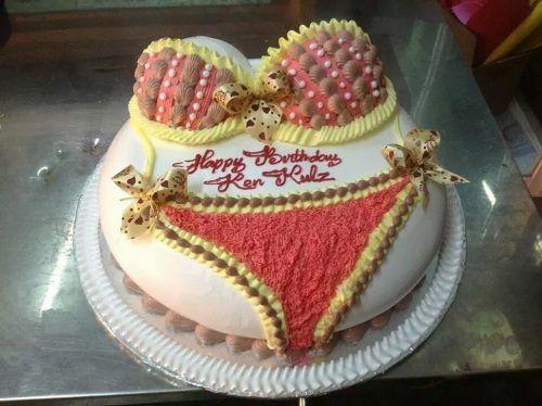 Bánh kem sinh nhật troll