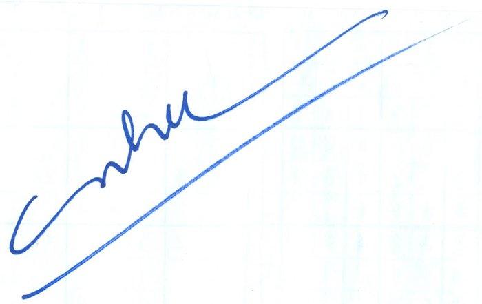Chữ ký tên Như chất
