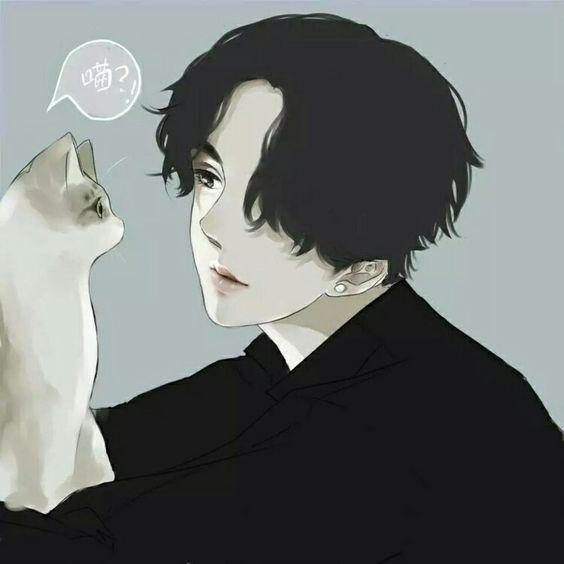 Hình đại diện buồn Anime cho con trai