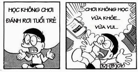 Hình Nobita chế thơ