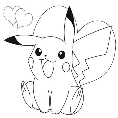 Hình Pikachu đáng yêu
