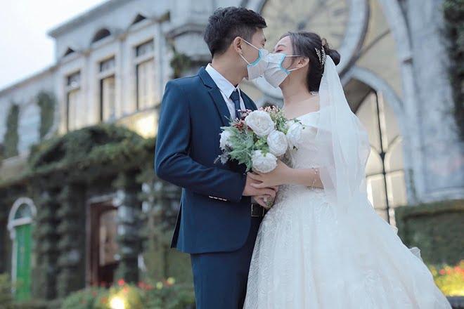 Hình cưới mùa dịch Covid-19
