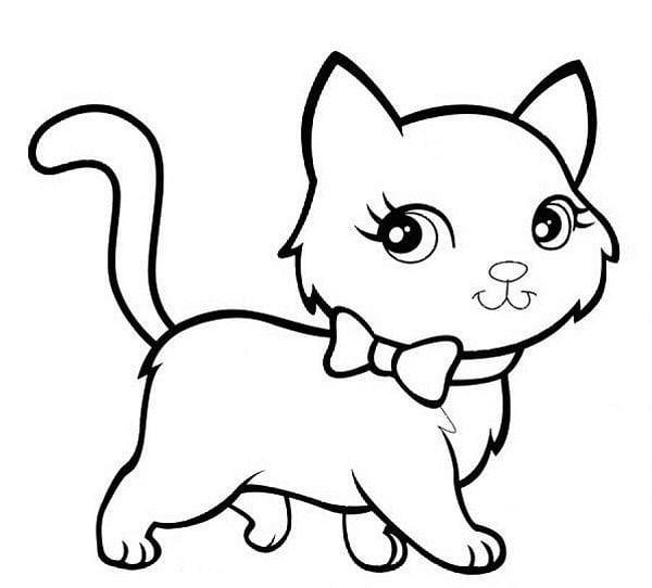 Hình chú mèo đáng yêu