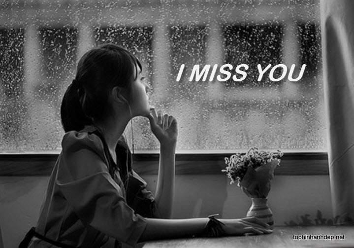 Hình chế buồn cô đơn nhớ người yêu