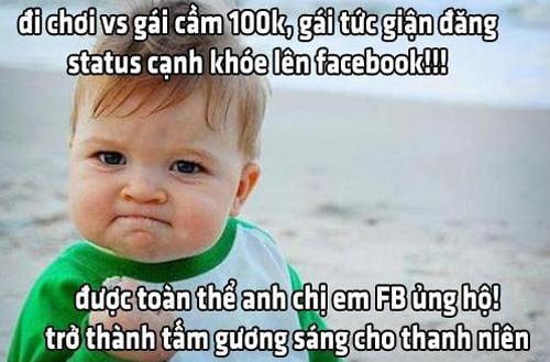Hình chế trên Faceboook