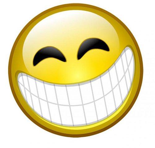 Hình mặt cười nhe răng bựa