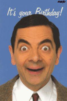 Hình sinh nhật chế Mr Bean