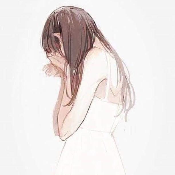Hình vẽ buồn dễ thương
