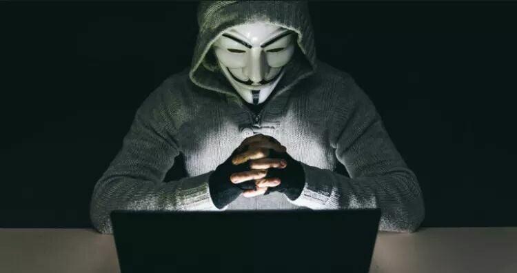 Hình hacker buồn