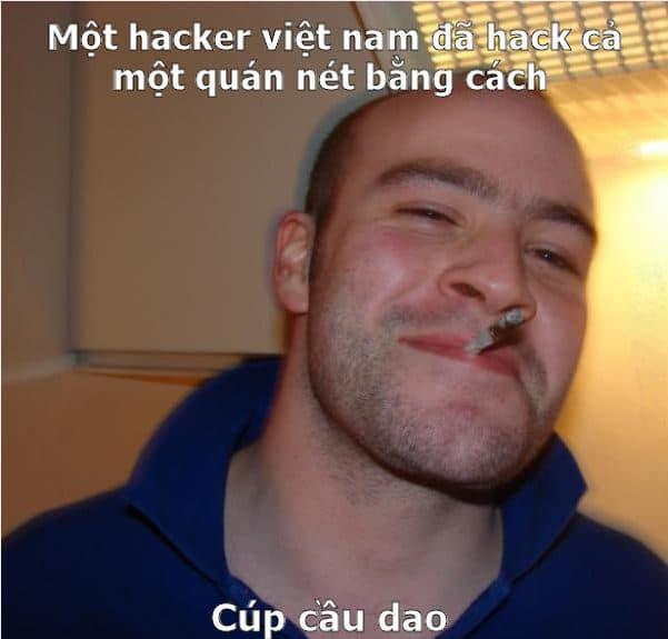 Hình hacker hài hước