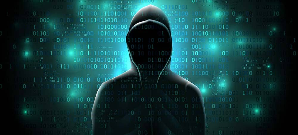 Hình hacker mạng 3D